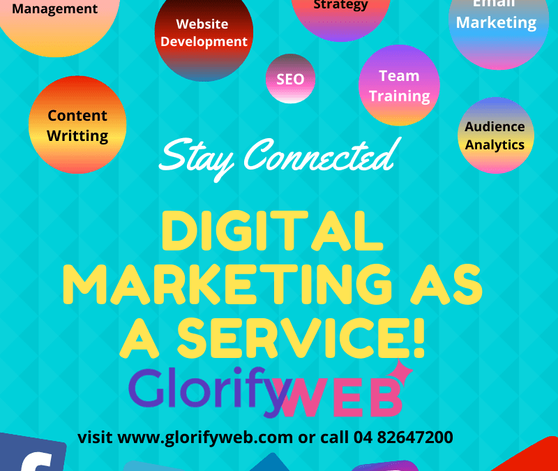 Digital Marketing as a Service