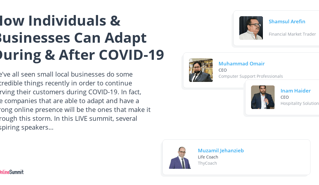 Motivational Entrepreneurship During COVID-19