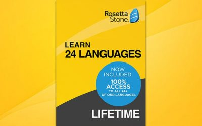 Get Access to Learn 24 Languages on Rosetta Stone's Award-Winning Software