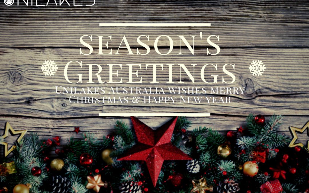 Unilakes Australia wishes you a very blessed Christmas & a happy new year.